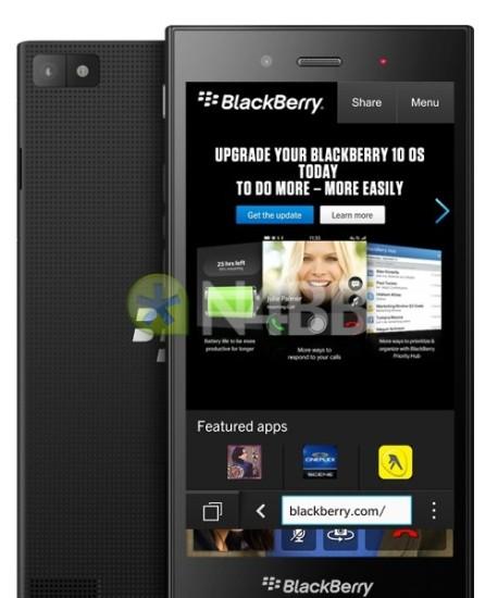 Il nuovo smartphone di fascia bassa Z3 di Blackberry