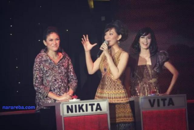 Penampilan Nikita Mirzani di Take Me Out Indonesia 2009