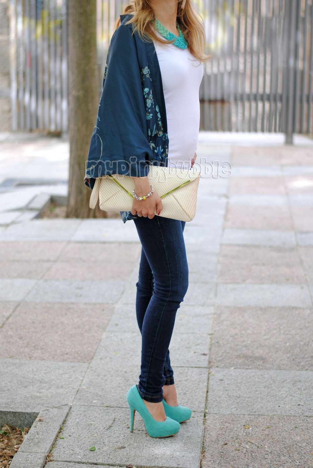 Outfit Zapatos Azules