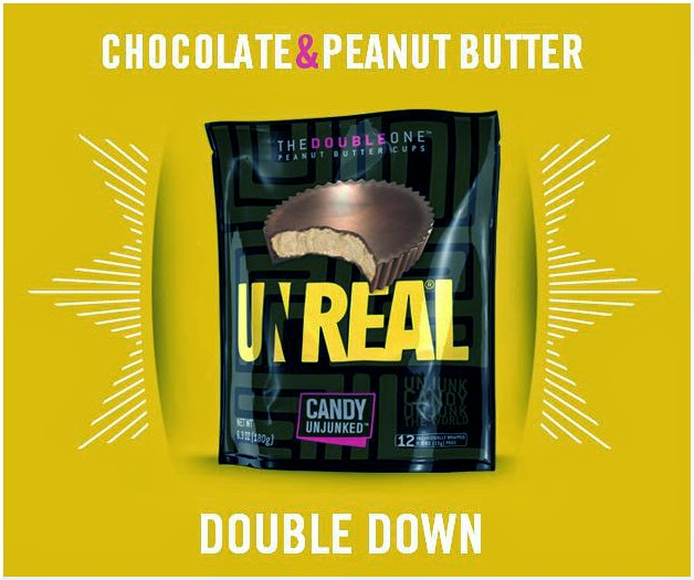 CLICK to order UNREAL chocolate peanut butter cups from Amazon.