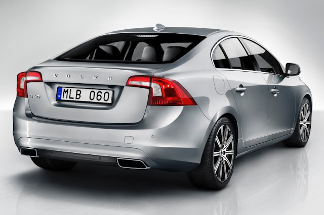 2015 New Volvo Model S60 edition back view