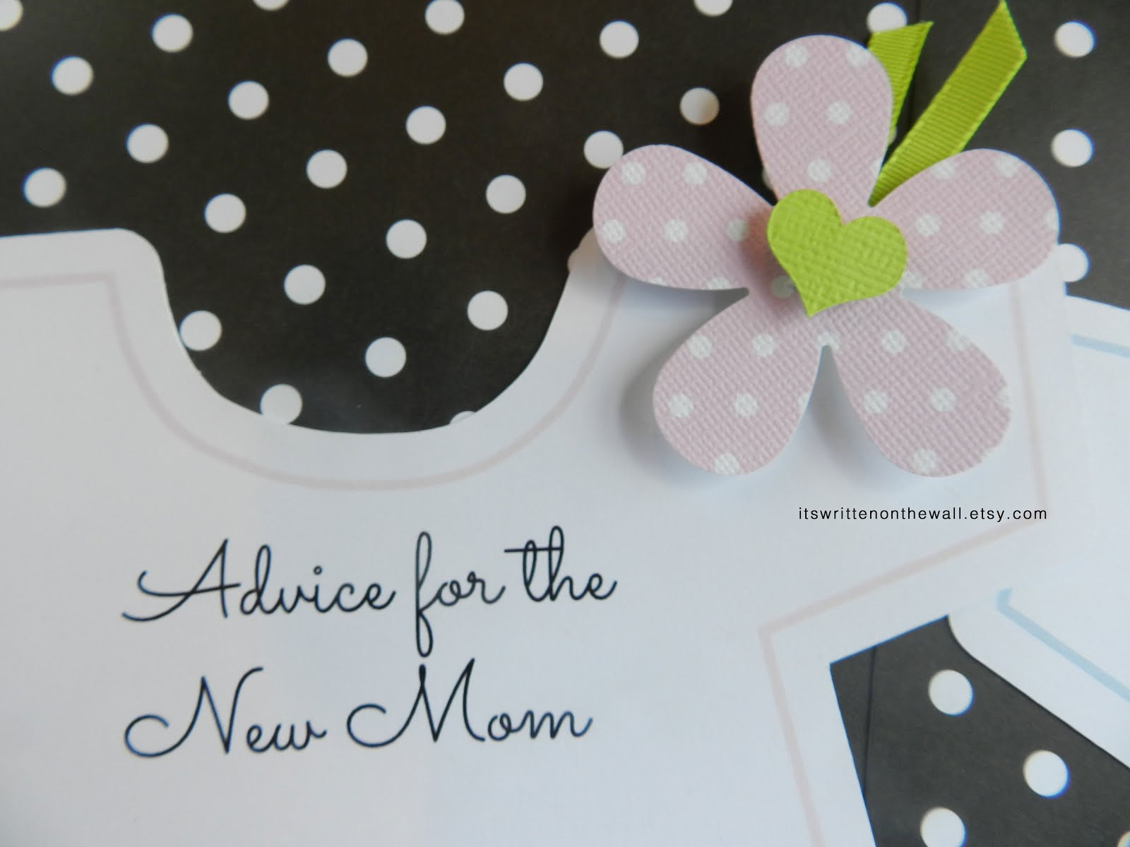 Baby Shower Game-Advice for the New Mom