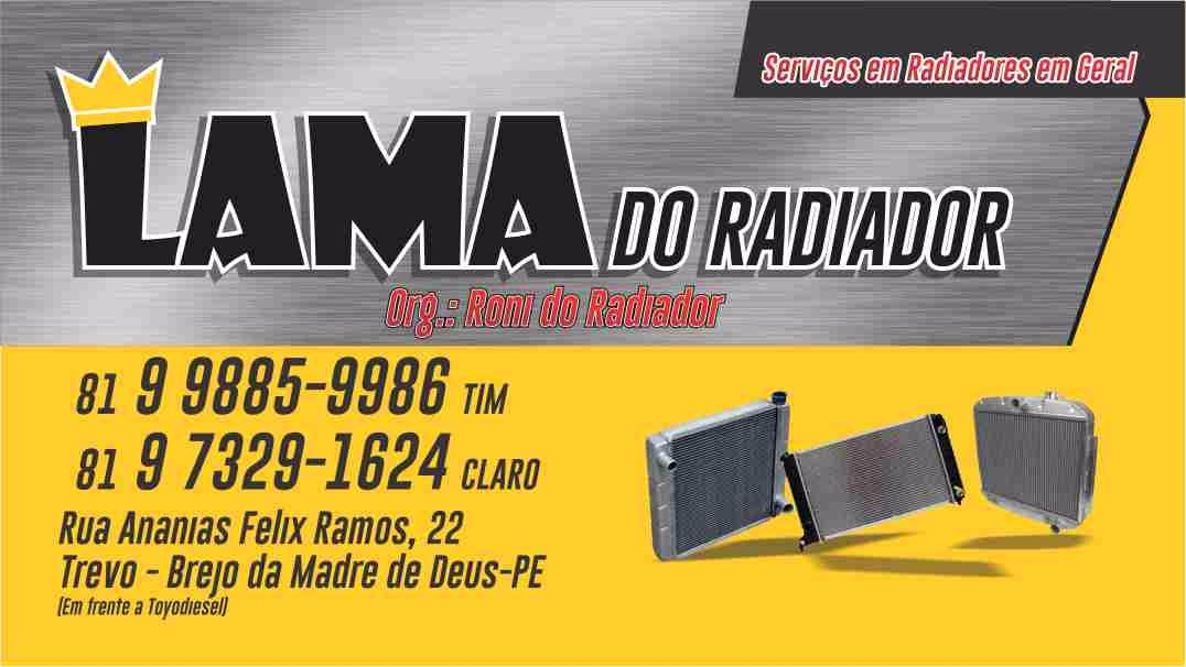 Lama do Radiador