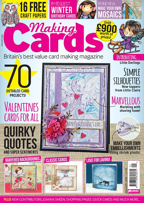 Published in Making Cards Magazine January 2016