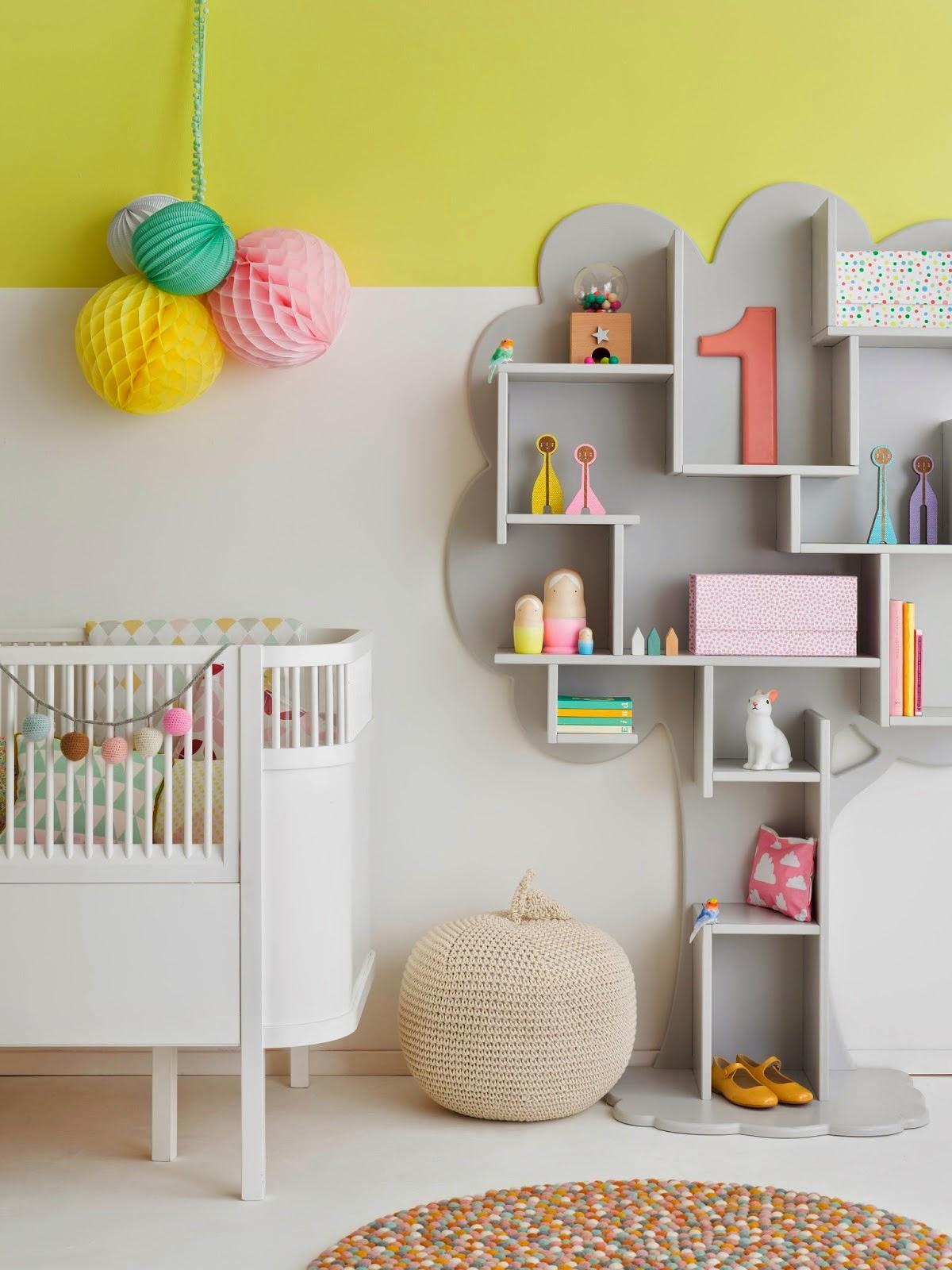 Полки на стену в детскую комнату своими руками