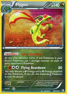 Flygon Boundaries Crossed Pokemon Card