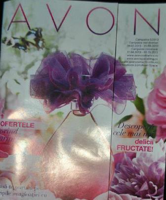 Catalog Avon campania 6 2013 online (brosura aprilie - mai)