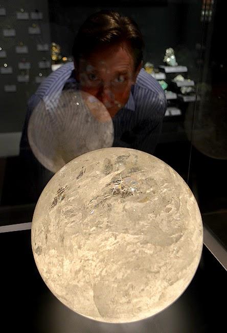 Tellus Science Museum, Quartz Sphere