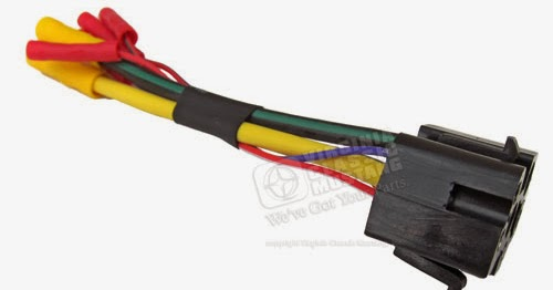 Virginia Classic Mustang Blog  1968 And 1969 Mustang Ignition Switch Plug With Wiring Pigtail