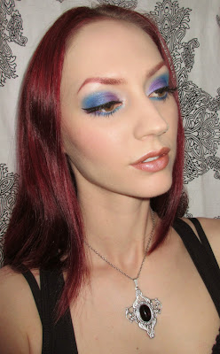 http://themoonmaiden-blix.blogspot.com/2015/03/purple-blue-and-turquoise-eye-makeup.html