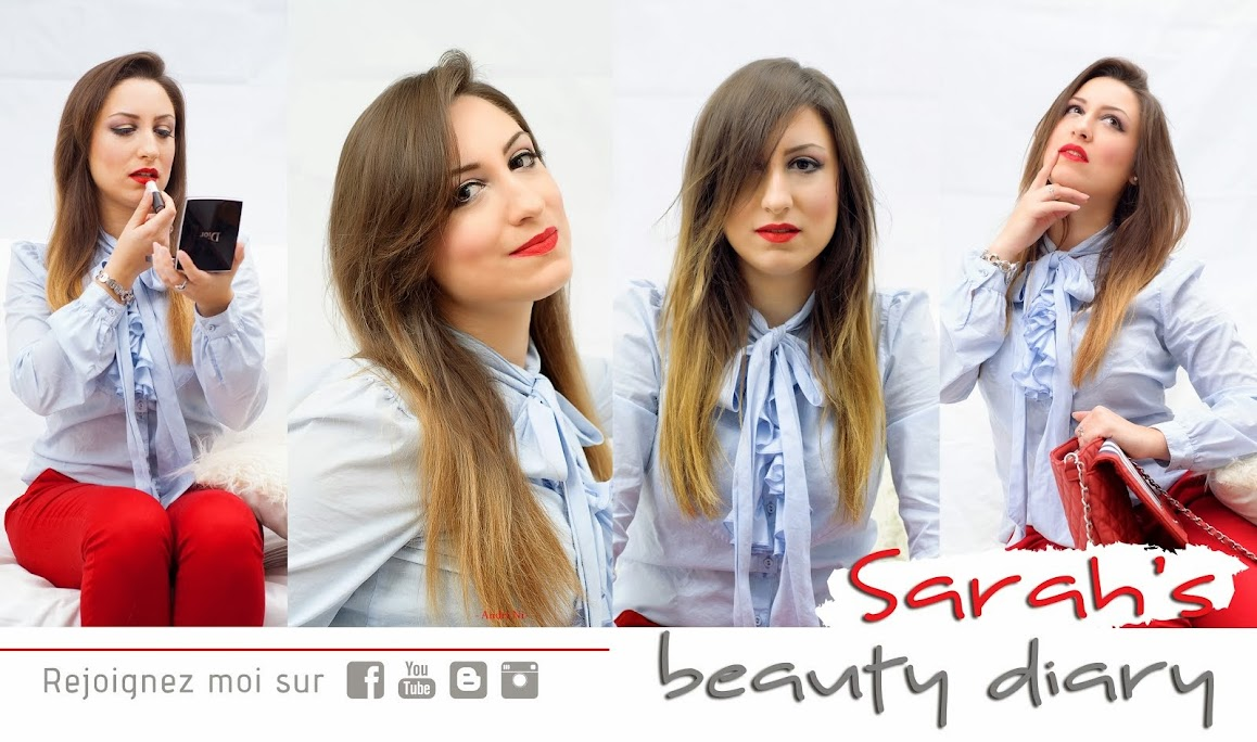 Sarah's beauty diary