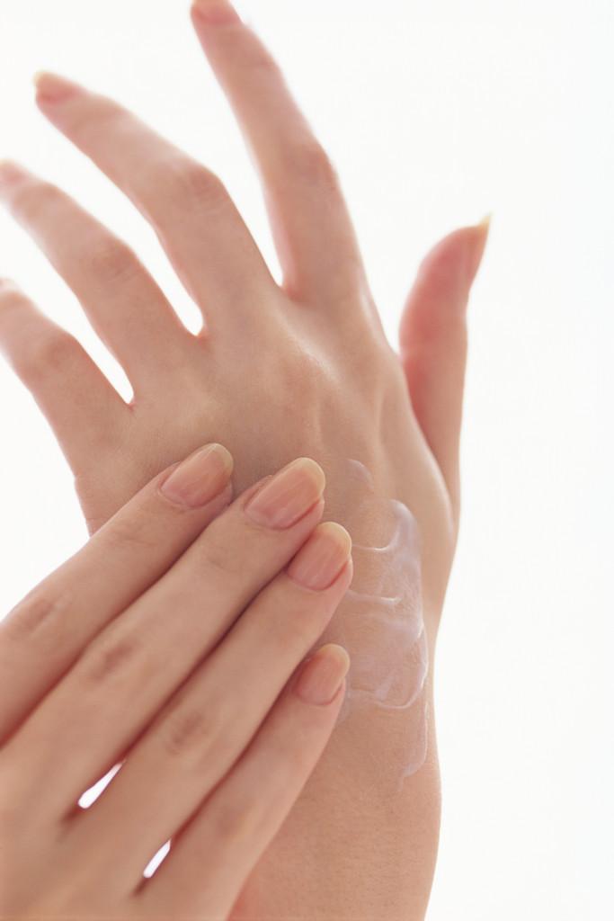 lavado de manos y uñas