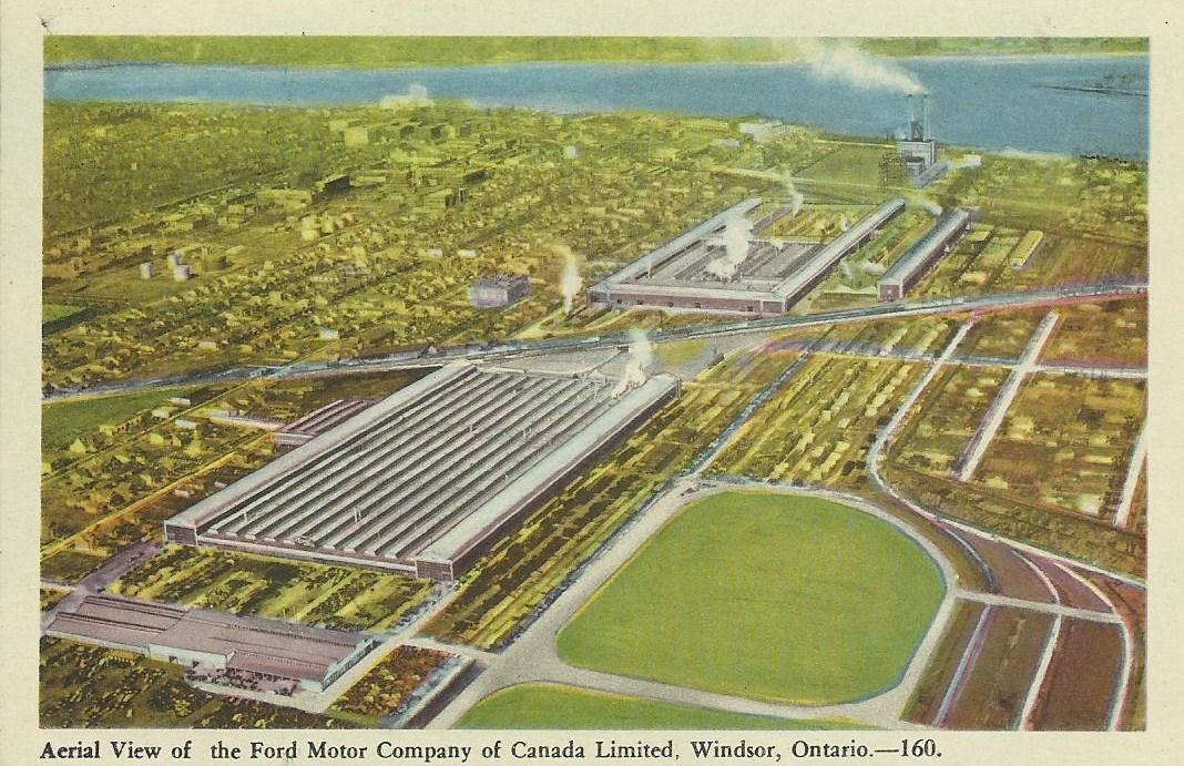 Ford Motor Company Of Canada Windsor Ontario