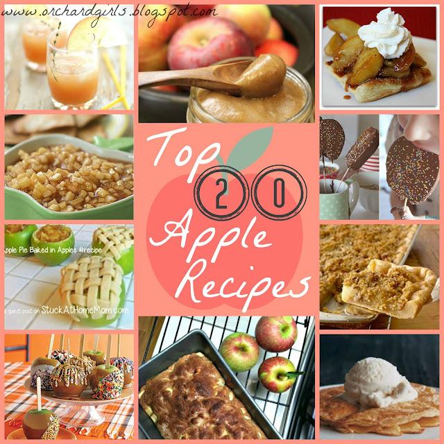 Top 20 Apple Recipes #applerecipes #recipes #top20