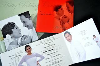 Kad Kahwin Memey Suhaiza & Norman Hakim