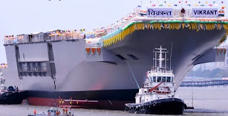 INS VIkrant India's first indigenous aircraft carrier