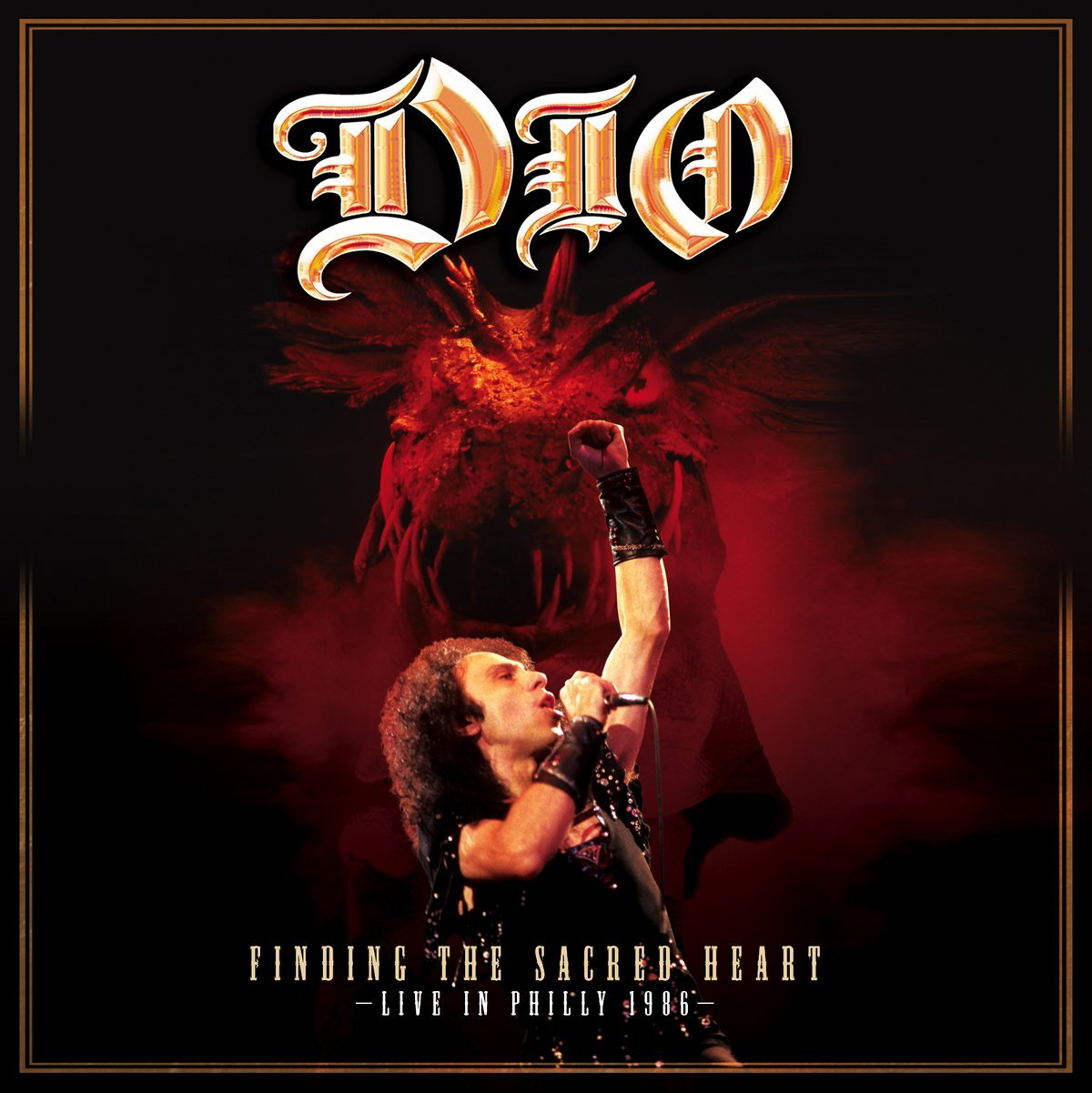 Capa do álbum Dio – Finding the Sacred Heart: Live in Philly 1986 (2013)