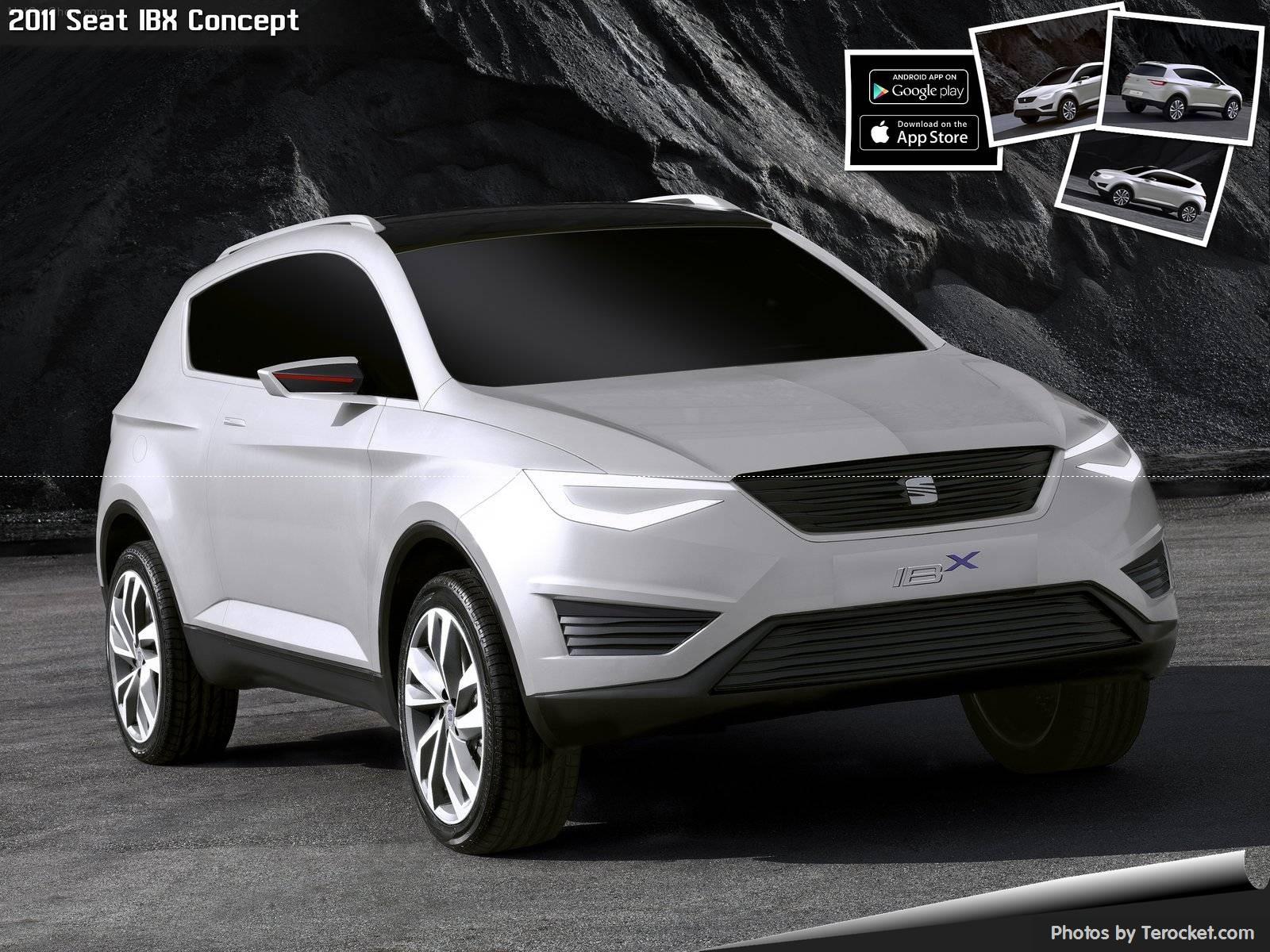 Hình ảnh xe ô tô Seat IBX Concept 2011 & nội ngoại thất