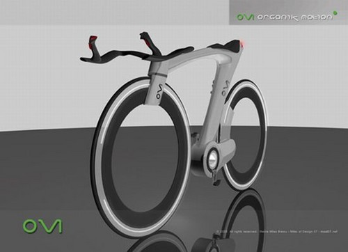 Organik Motion Bike offers clean transportation