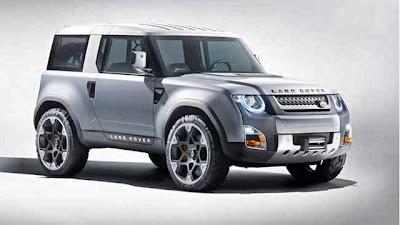 2015 Land Rover Defender-Redesign