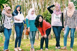 Hunting Foto bersama WJS Girls
