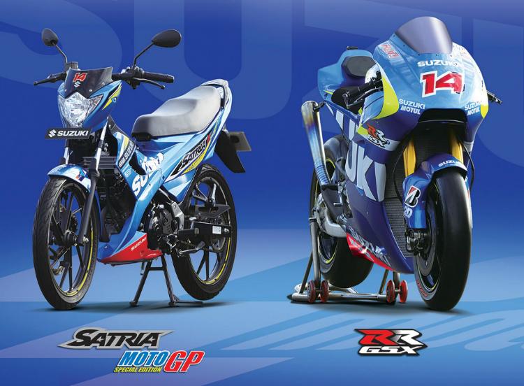"""Suzuki New Satria F150 MotoGP Edition . . . hanya bebek sport inilah yang layak disebut """"Predator"""""""