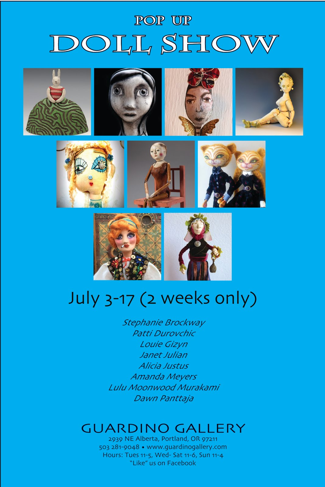 Pop-Up Doll Show 2015