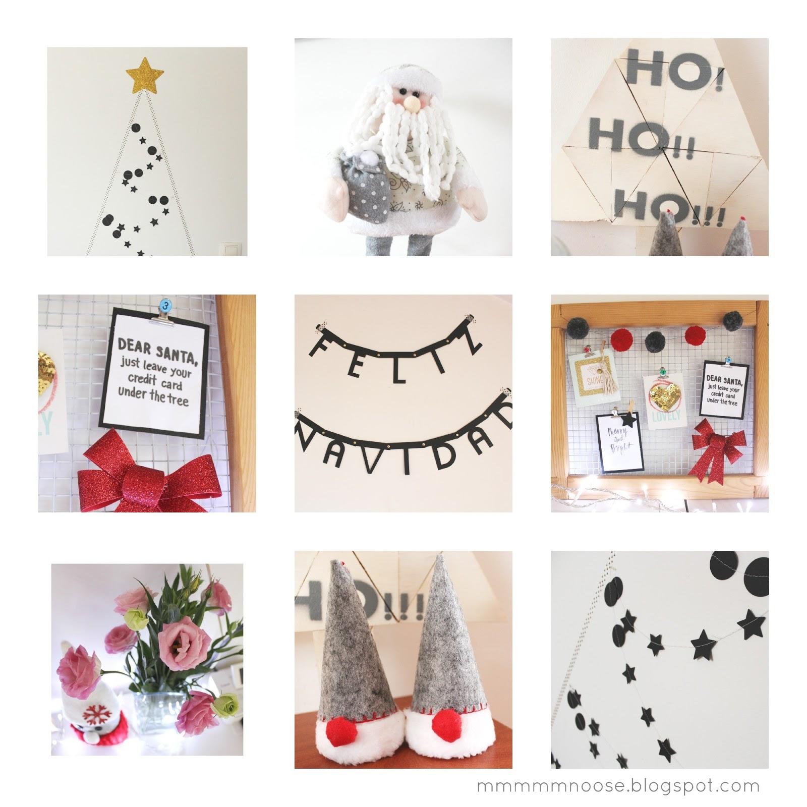 Mmmmmdeco decoraci n navide a para casas peque as - Decoracion navidena diy ...