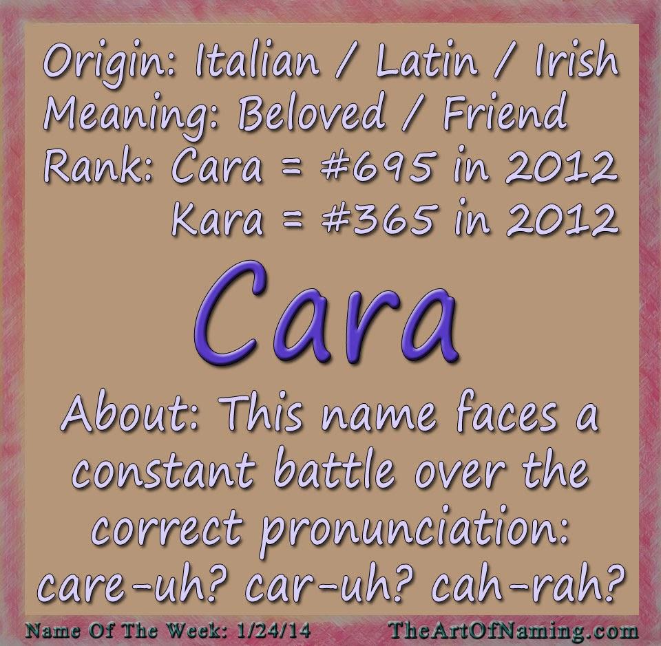 Kara Names my Name is Kara And i