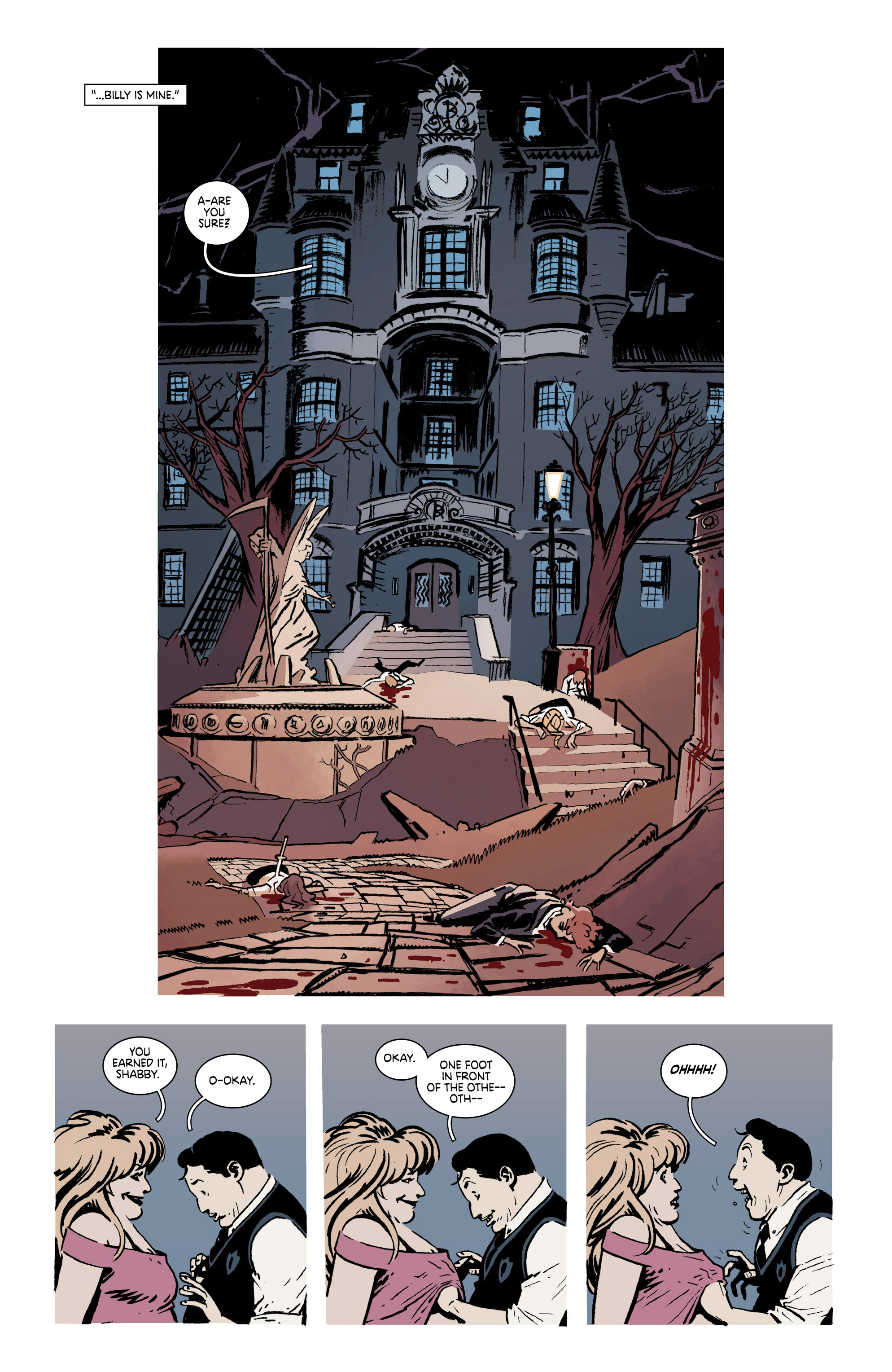 Read online Deadly Class comic -  Issue #19 - 23