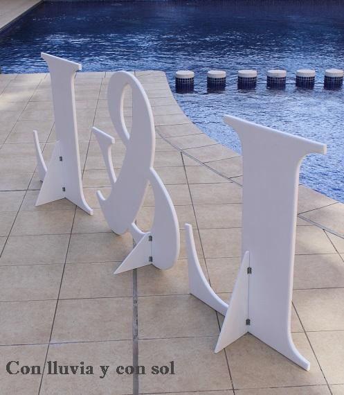 Letras De Decoracion Para Bodas ~ Letras gigantes  Foro Organizar una boda  bodas com mx