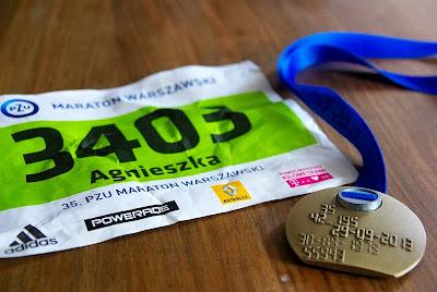 Mój pierwszy maraton - 35 Maraton Warszawski