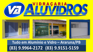 Publicidade: Vidraçaria Aluvidros