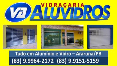 Publicidade: Vidraçaria Aluvidros