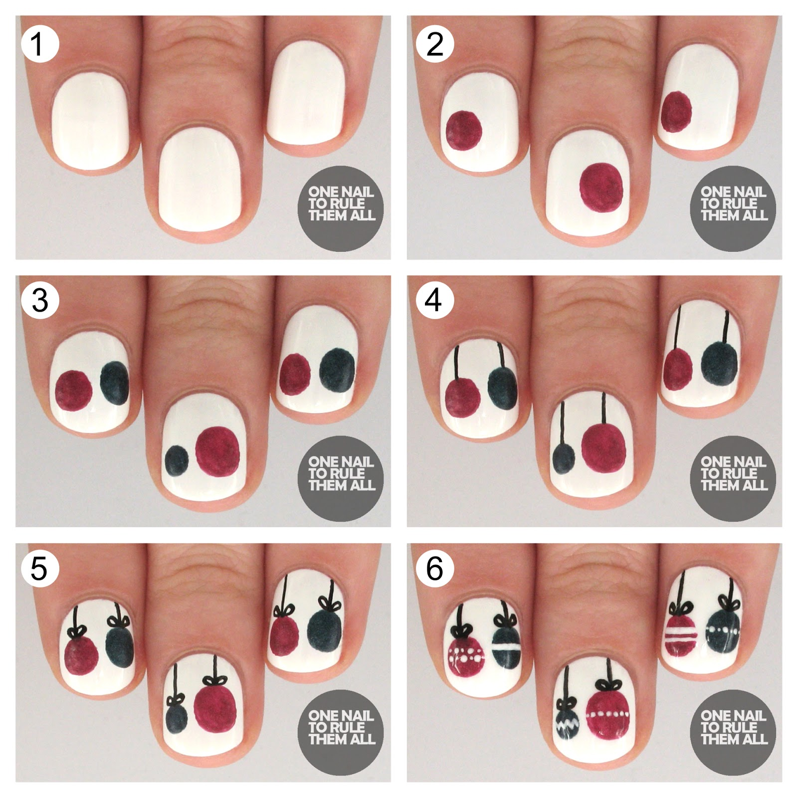 Tutorial Tuesday Christmas Baubles For Barry M