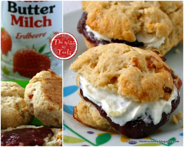 how to make fruit scones with buttermilk