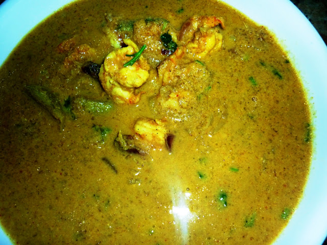 prawns and mango curry recipe,kerala special recipes