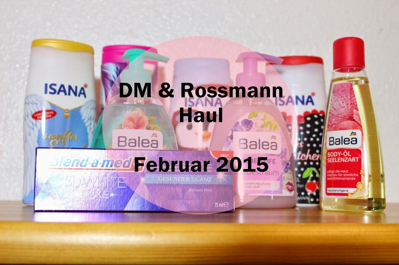 DM Rossmann Haul