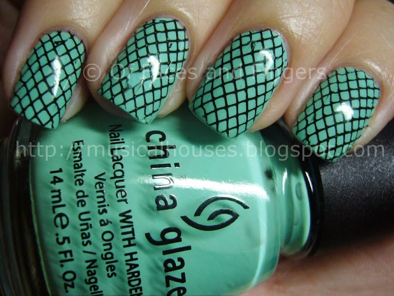 China Glaze For Audrey Konad