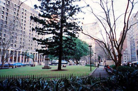 Wynyard Park, Sydney CBD
