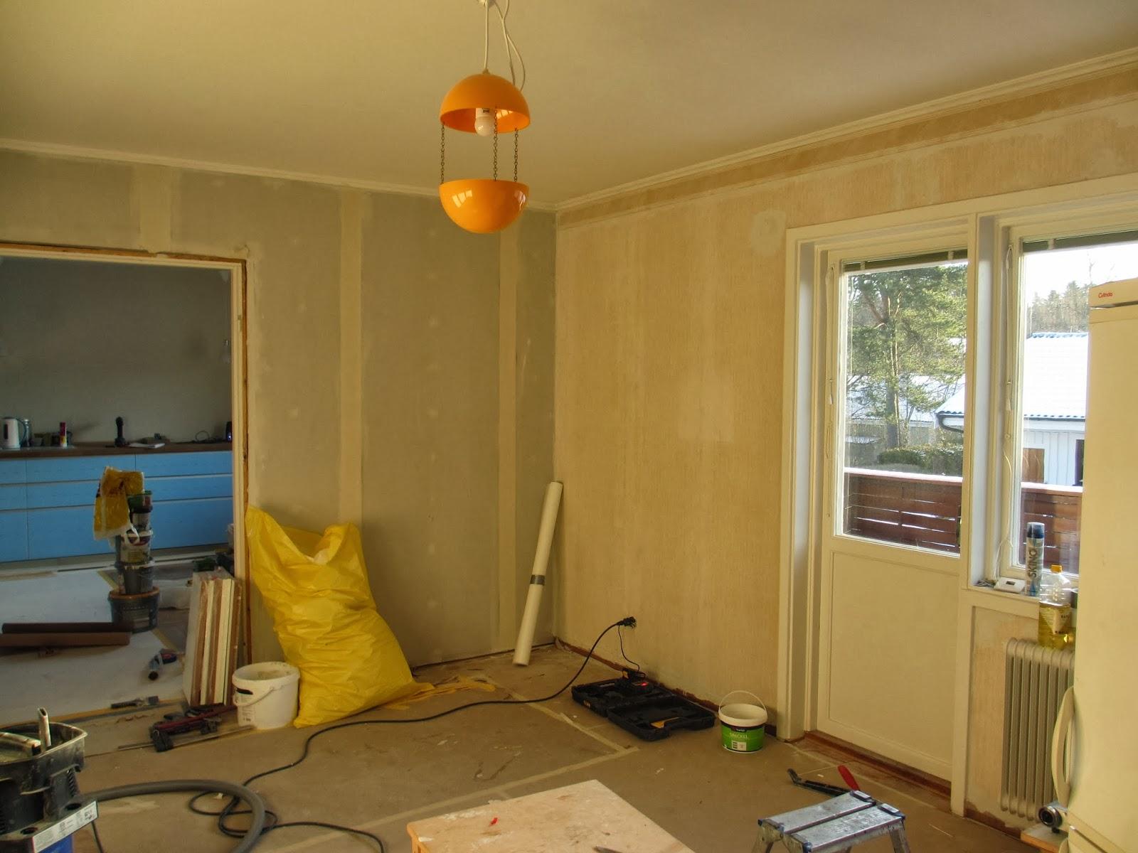 Pias planer: vardagsrum och hall
