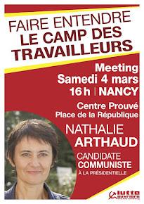 Meeting de Nathalie Arthaud