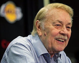 Lakers owner Jerry Buss 80, died Monday, Jerry Buss, Jerry Buss dead