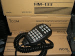MICROPHONE ICOM HM-133