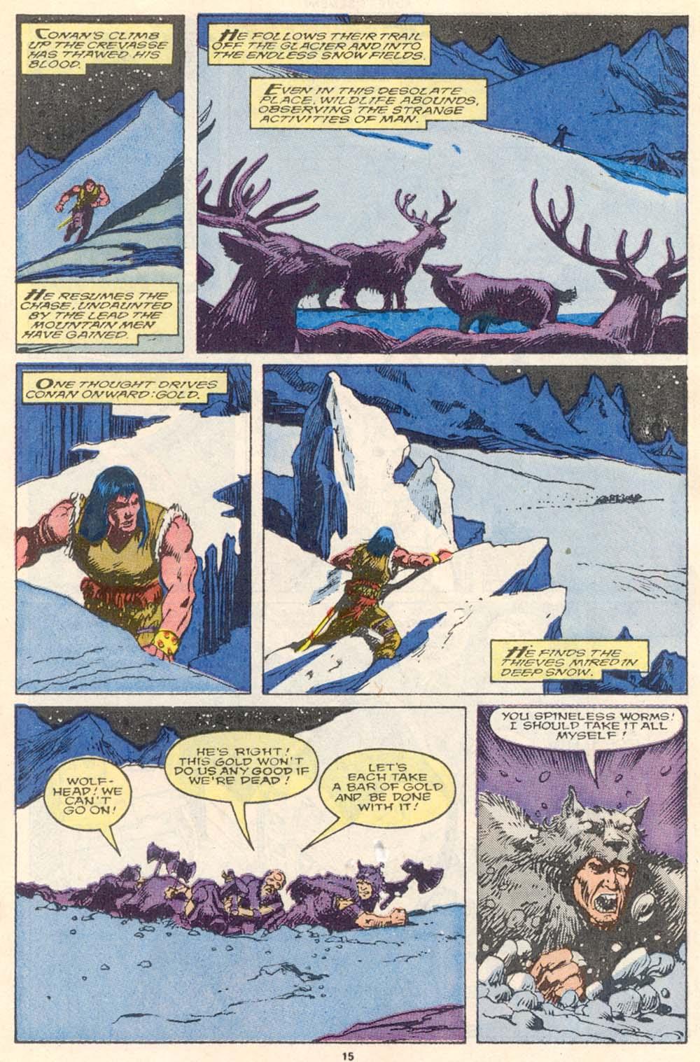 Conan the Barbarian (1970) Issue #220 #232 - English 14
