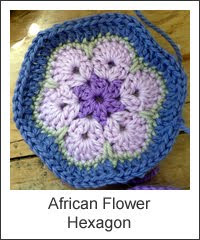 African Flower Crochet