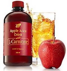 منتج ل – كارنتين .. L-Carnitine مع عصير التفاح ، للتخلص من السمنة ، ومجدد للطاقة