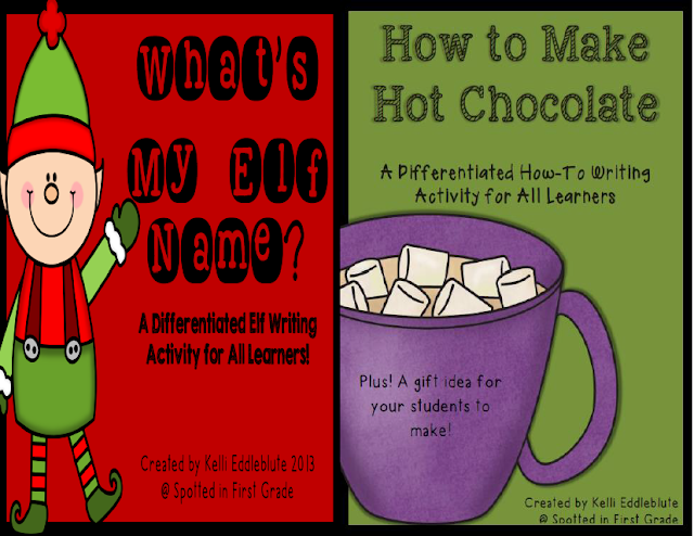 http://www.teacherspayteachers.com/Product/Holiday-Themed-Differentiated-Writing-Activites-Bundle-1005577
