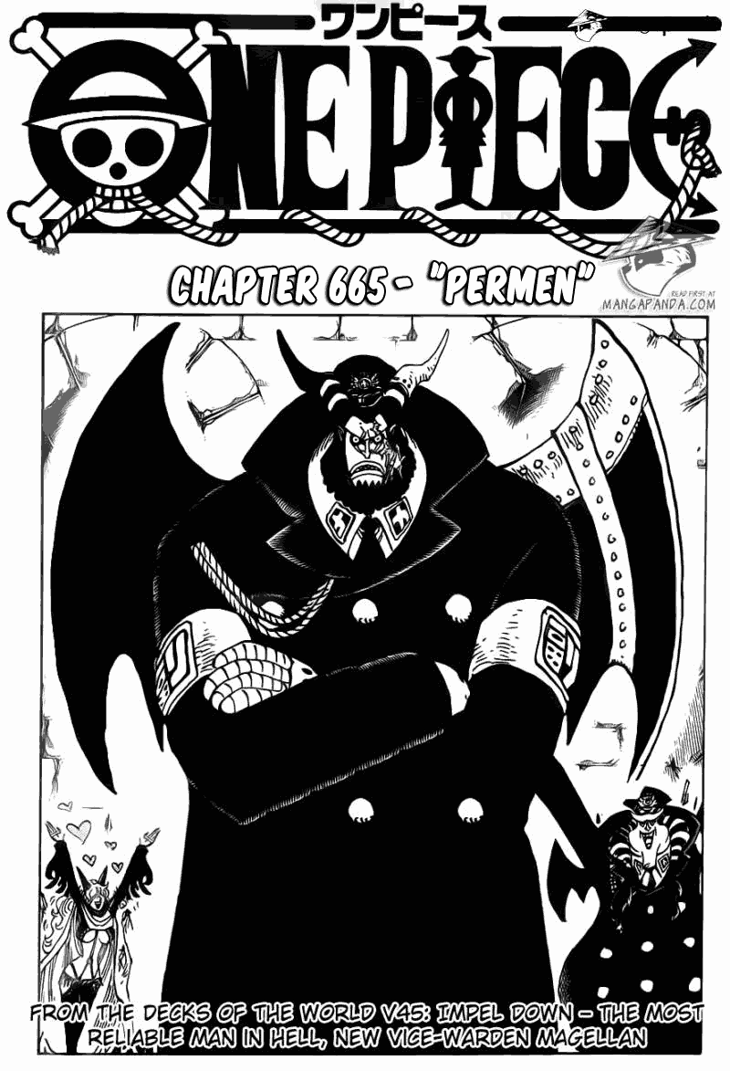 komik one piece 665 page 1