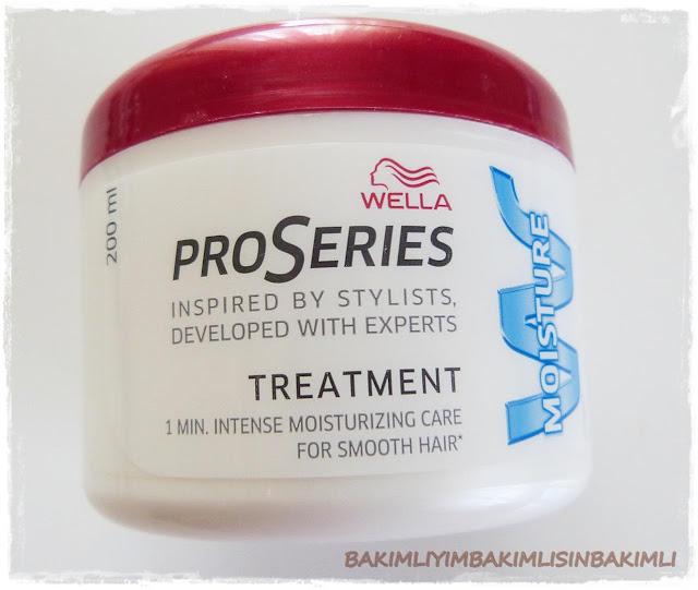 wella proseries hair mask moisture review